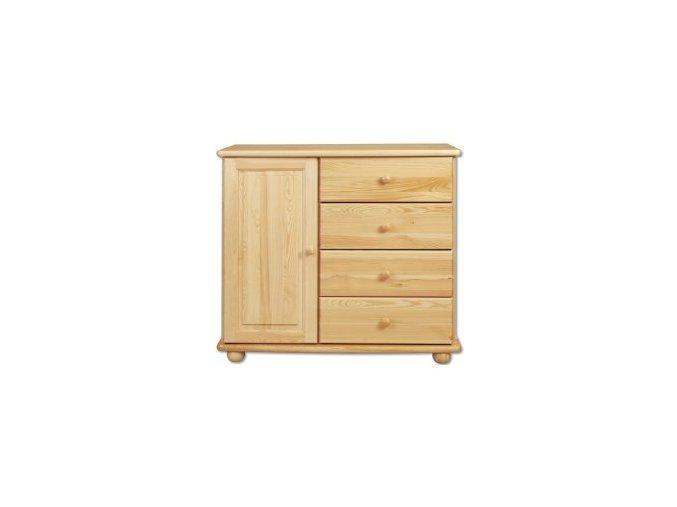 Dřevěná komoda masiv 118 z borovice