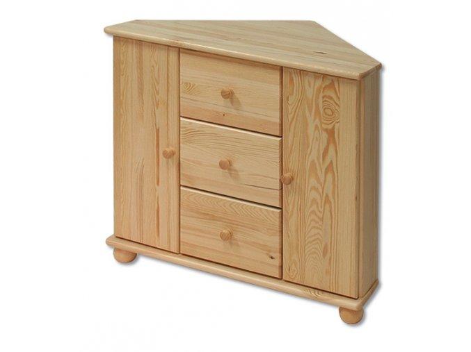 Dřevěná komoda masiv 133 z borovice