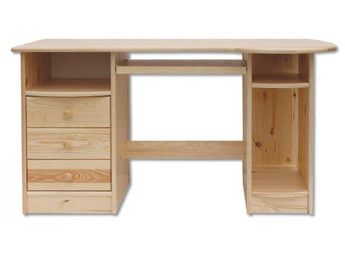 Dřevěný psací stůl MASIV 102 z borovice