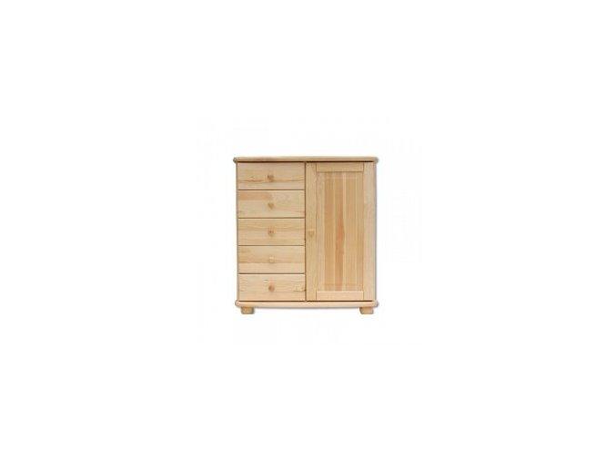 Dřevěná komoda masiv 152 z borovice