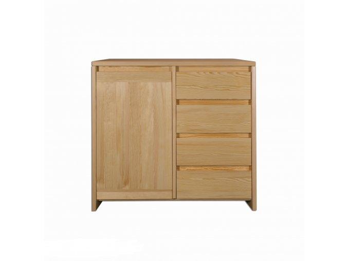 Dřevěná komoda borovice masiv 172