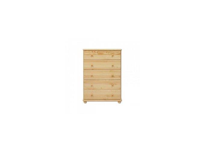 Dřevěná komoda borovice masiv 114