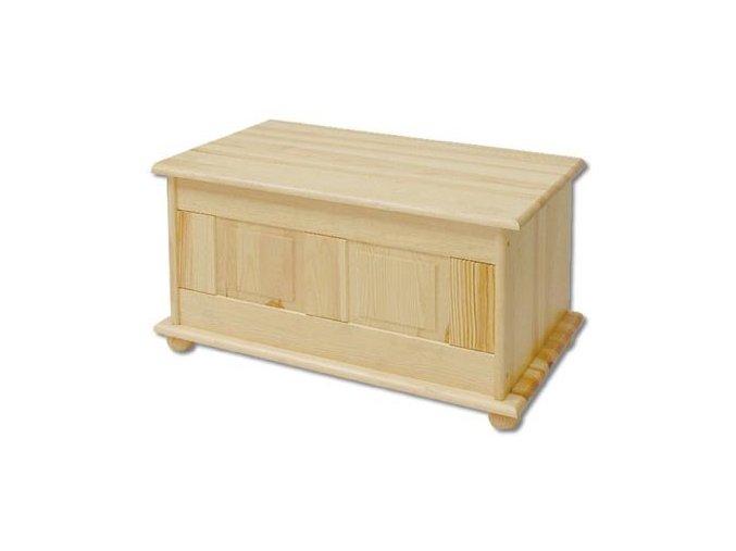 Dřevěná truhla BM102 borovice masiv