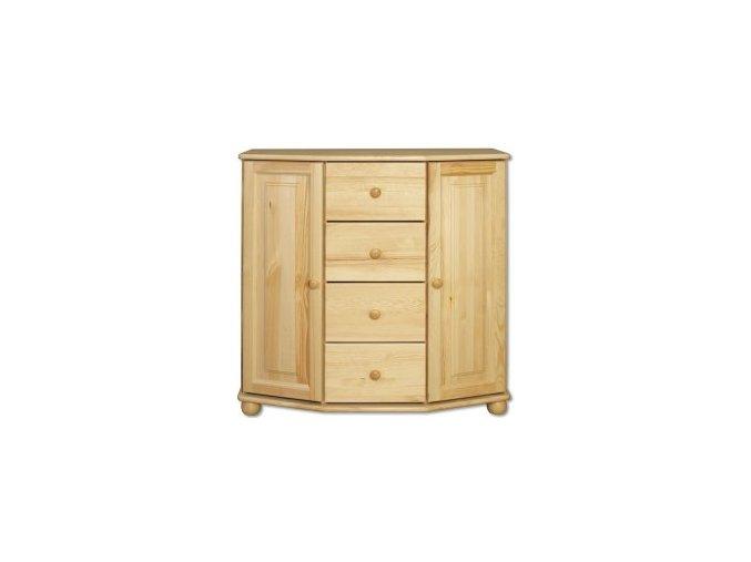 Dřevěná komoda masiv 129 borovice