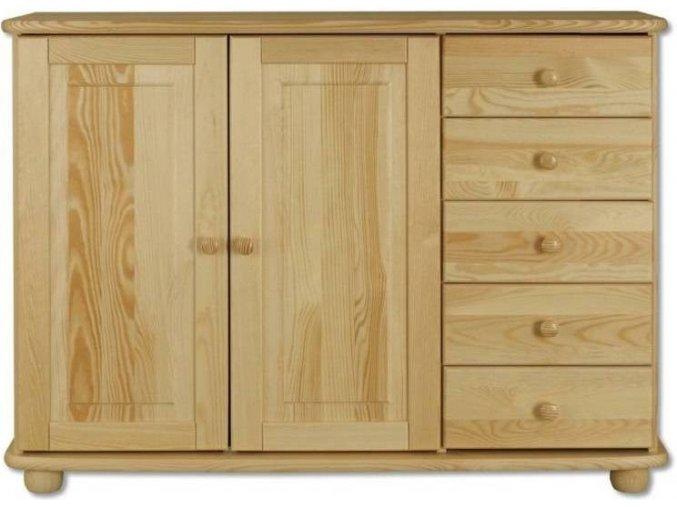 Masivní dřevěná komoda masiv 144
