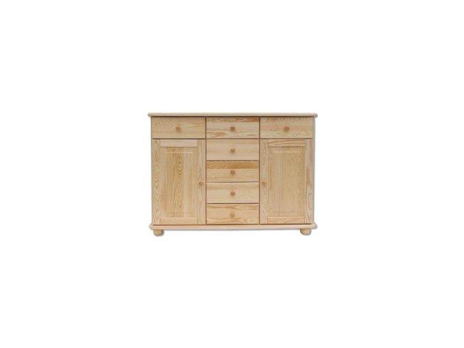 Dřevěná komoda masiv 153 borovice