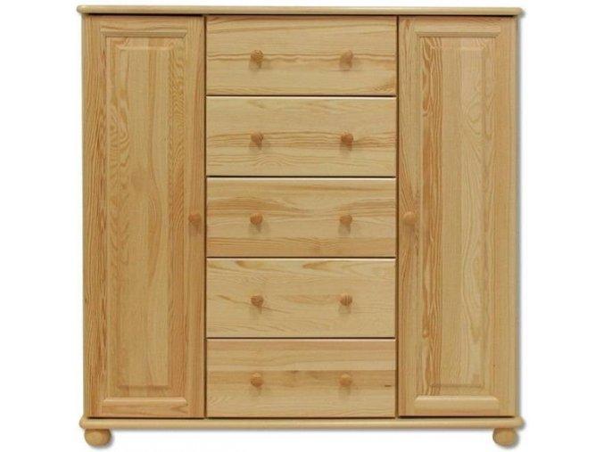 Dřevěná masivní komoda masiv 125