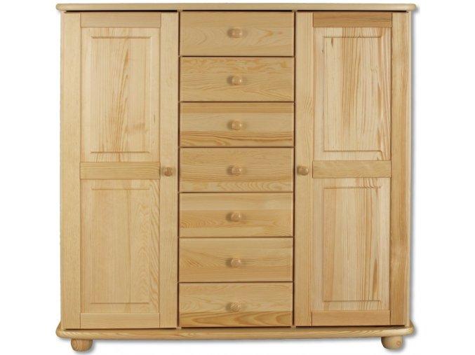 Masivní dřevěná komoda masiv 146