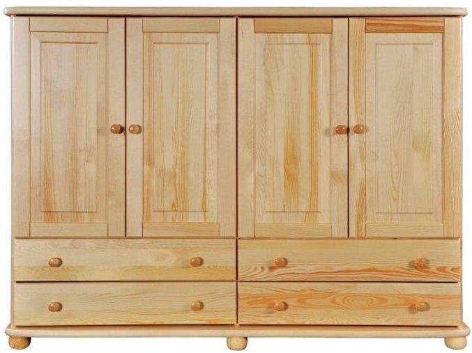 Velká dřevěná komoda masiv 157