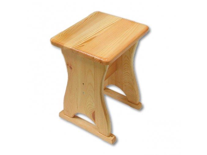Jídelní stolička MASIV BM113 z borovice