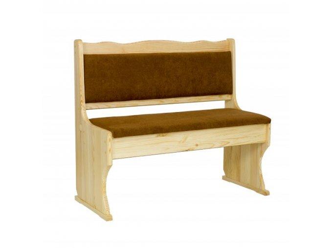 Dřevěná jídelní lavice MASIV BM106 z borovice