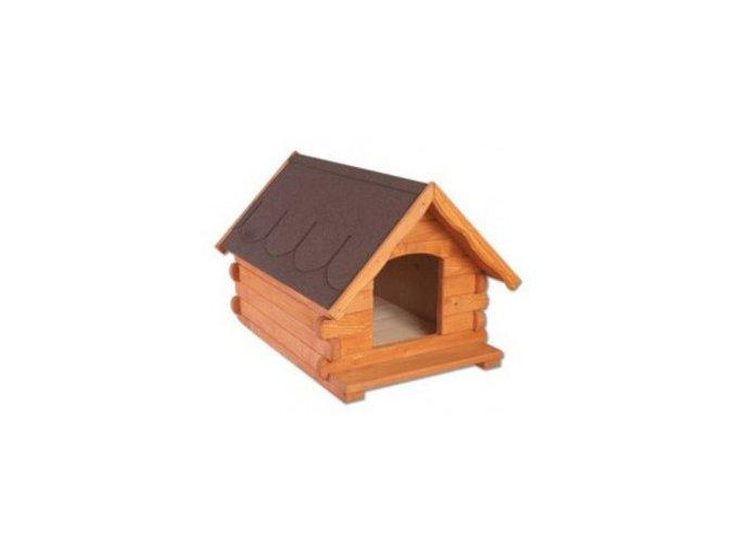 Bouda pro psa dřevěná z borovicového dřeva MASIV MO144