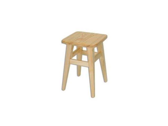 Dřevěný taburet BM248 borovice masiv