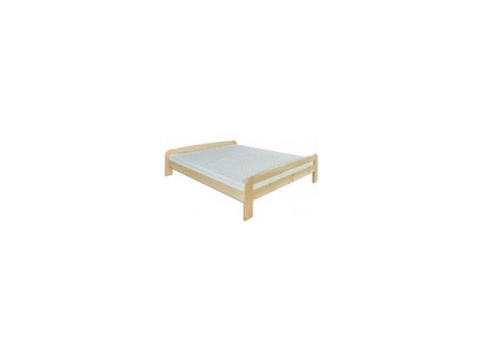 Dřevěná masivní postel 140x200 cm masiv BM108 z borovice