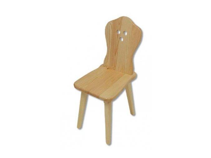 Dřevěná jídelní židle BM110 borovice masiv