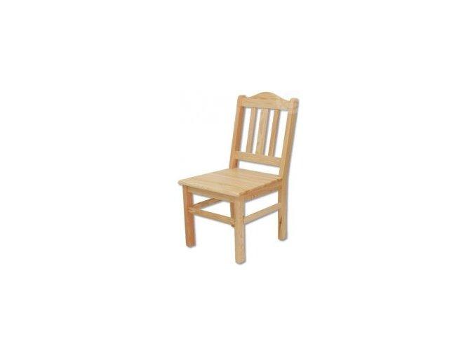 Dřevěná jídelní židle BM101 borovice masiv
