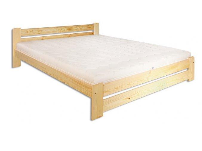 Dřevěná masivní postel 180x200 cm MASIV 118 z borovice