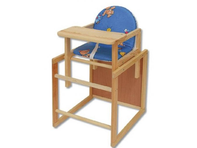 Jídelní židlička v kombinaci se stolkem 47x44x90cm SKLADEM 1KS