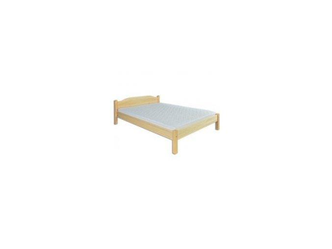 Dřevěná masivní postel 160x200 cm MASIV 106 borovice masiv-přirodní