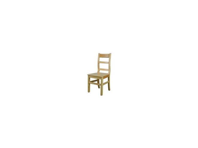 Dřevěná jídelní židle BM114 borovice masiv