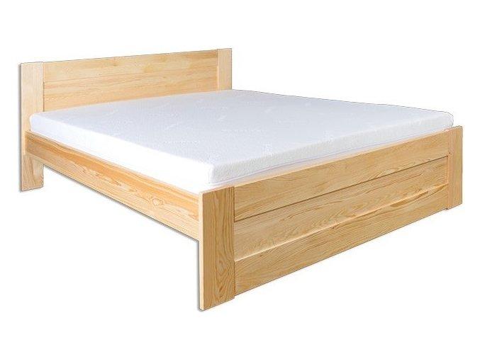 Dřevěná masivní postel 180x200 cm MASIV 102 z borovice