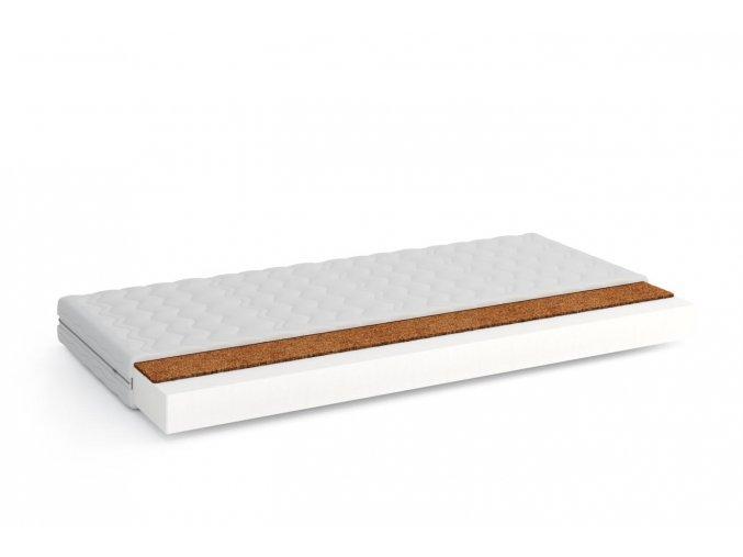 Pěnová matrace V- KOKOS 90x180x9 cm s potahem- vhodná pro přistýlky