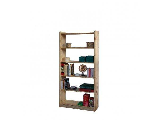 Knihovna - regál  dřevěný  11