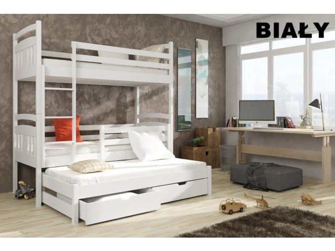 Dřevěná postel Igor 80x200 cm z borovice