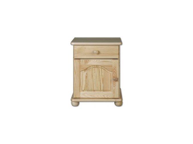 Noční stolek masiv 104 z borovice