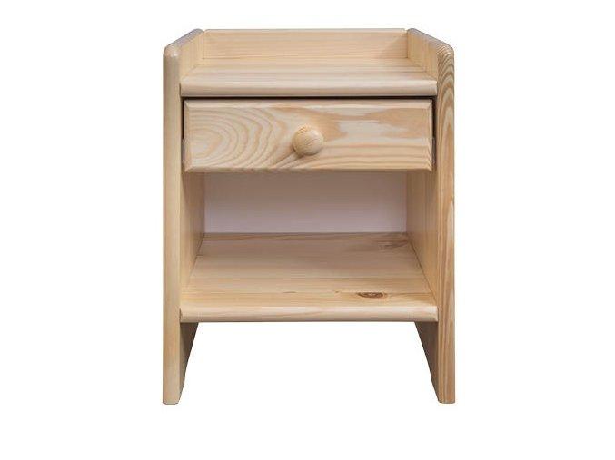 Noční stolek masiv 107 z borovice