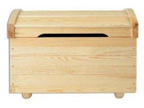 Dřevěná truhla BM106 borovice masiv SKLADEM 1KS
