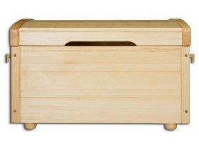 Dřevěná truhla-peřiňák BM104 borovice masiv