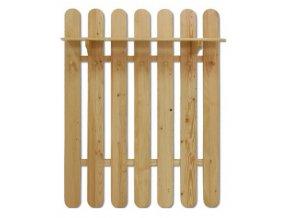 Dřevěná věšáková stěna MASIV 102 z borovice