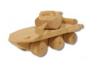 Dřevěná hračka -tank D104