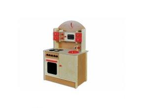 Dřevěná kuchyňka D266 borovice masiv