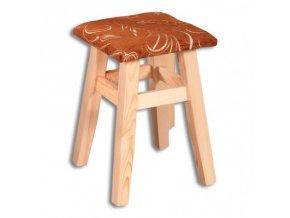 Jídelní stolička MASIV BM114 z borovice