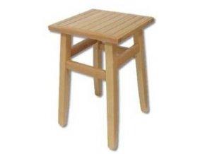 Dřevěný taburet BM250 buk