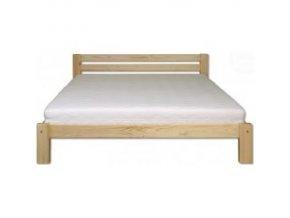 Dřevěná masivní postel 140x200 cm MASIV BM105 z borovice