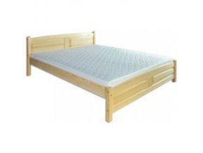 Dřevěná masivní postel 140x200 cm MASIV BM104 z borovice