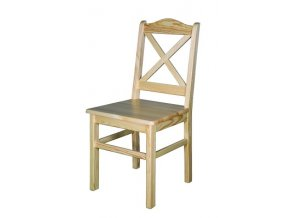 Dřevěná jídelní židle BM113 borovice masiv