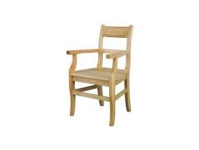Dřevěná jídelní židle BM115 borovice masiv