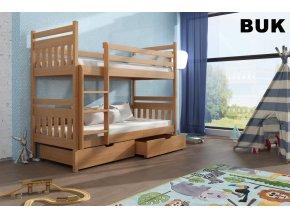Dřevěná postel Adam 80x200 cm z borovice
