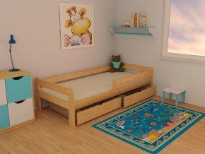 Dětská postel KIDS VMK009C 70 x 160 cm