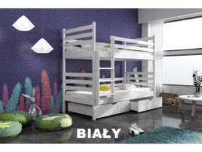 Dřevěná postel Nemo 80x200 cm z borovice