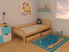 Dětská postel KIDS VMK008C 70 x 160 cm