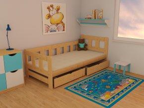 Dětská postel KIDS VMK010EA 70 x 160 cm