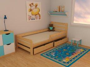 Dětská postel KIDS VMK001D 70 x 160 cm