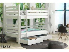 Dřevěná postel Patrik 80x200 cm z borovice