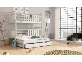 Dřevěná postel Klara 80x200 cm z borovice
