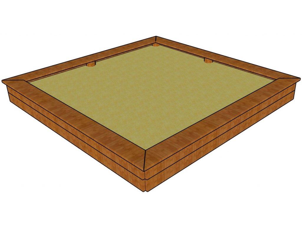 Pískoviště deskové 3x3 AKÁT katalog